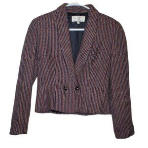 Christian Dior Tweed Lined Blazer Size 6